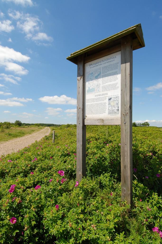 Eingang Stiftungsland Naturschutzgebiet
